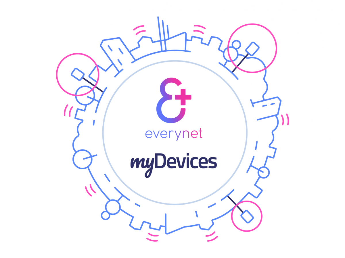 Everynet BV and myDevices announce major partnership to deliver an end-to-end IoT experience