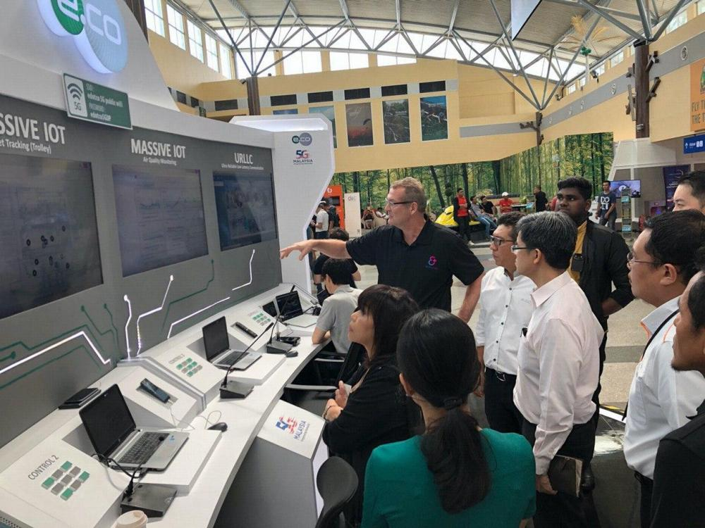 "Everynet IoT networking technology in Langkawi ""SMART"" airport"