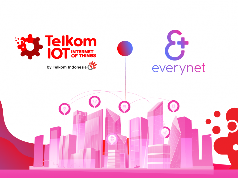 Telkom Indonesia & Everynet BV accelerate national IoT network roll-out, enabling Indonesia Industrial Revolution 4.0 vision