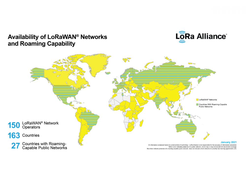 LoRaWAN® Roaming Now Available in More than 25 Countries