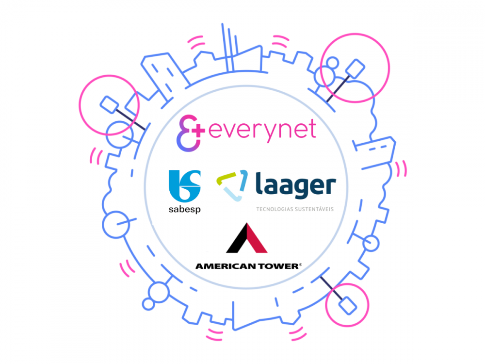 Everynet supports major smart water meter deployment by SABESP and LAAGER in Brazil